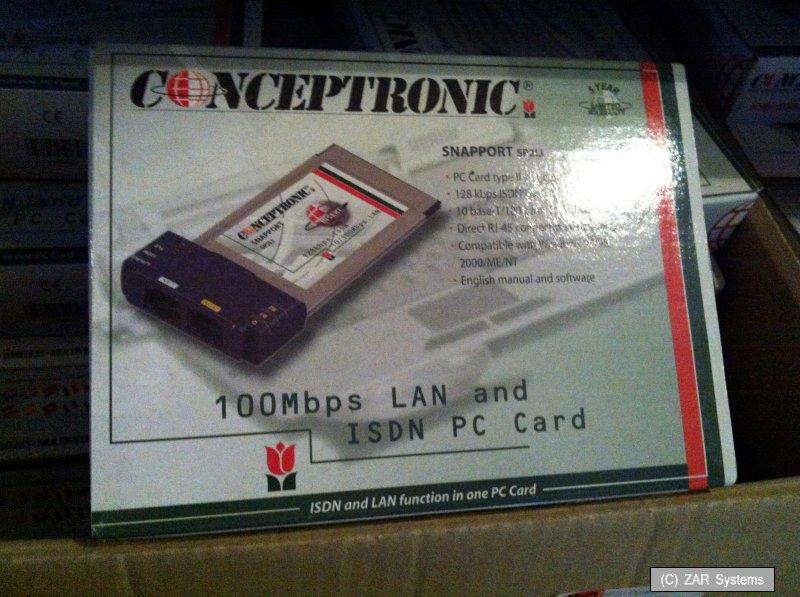 SP2LI-Dynalink-PCMCIA-Kombi-Karte-ISDN-10-100-LAN