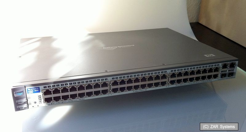 hp procurve switch 2650 manual