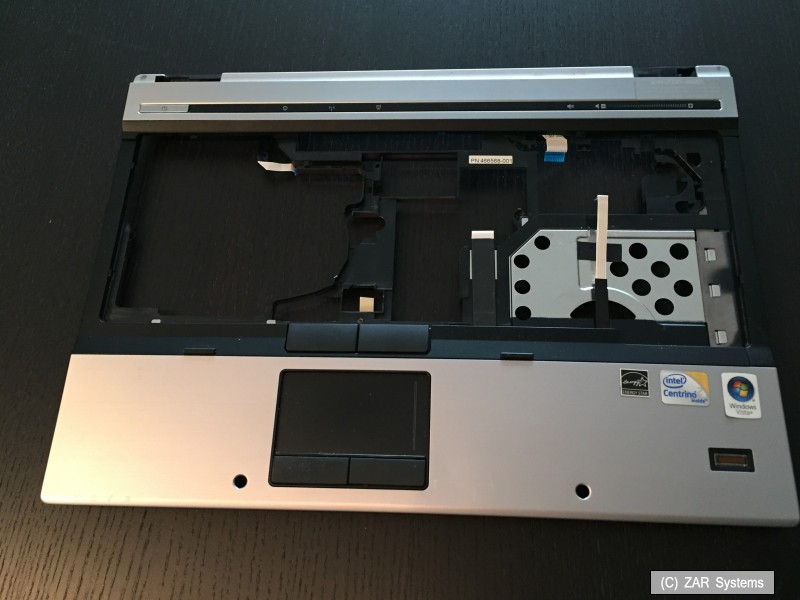 hp elitebook 6930p ersatzteile palmrest 486303 001 touchpad 486306 001 neuw. Black Bedroom Furniture Sets. Home Design Ideas
