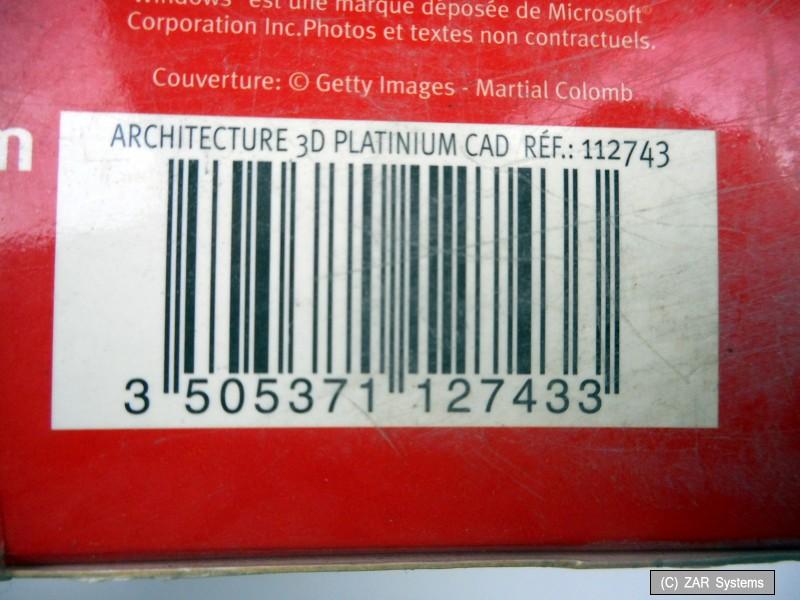 architecte 3d platinium cad 2006 dvd rom avec 1 c d rom. Black Bedroom Furniture Sets. Home Design Ideas