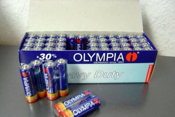 96-x-Original-OLYMPIA-AA-Batterien-R6-Mignon-Neuware