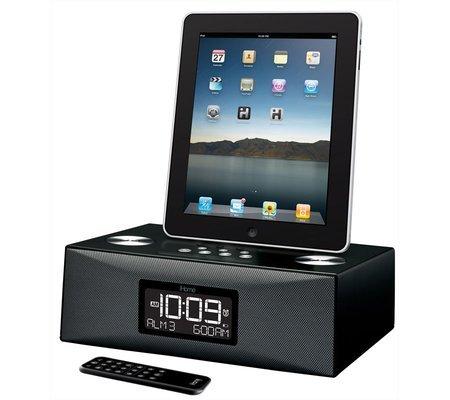 neu ihome id85 2xalarm ipad iphone ipod radiowecker boxen. Black Bedroom Furniture Sets. Home Design Ideas