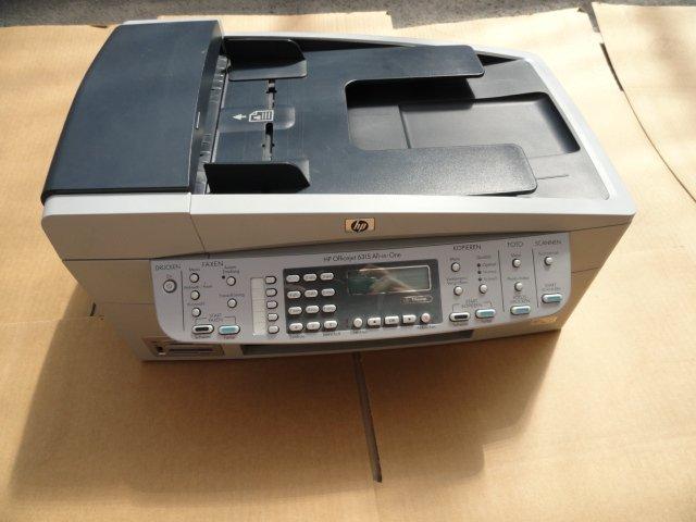 Hp officejet 6210 6310 6315 all in one drucker scanner for Drucker scanner kopierer