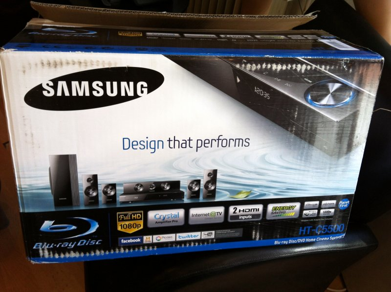 samsung ht c5500 upscaling 1080p blu ray heimkino mit 4x. Black Bedroom Furniture Sets. Home Design Ideas
